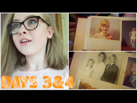 FILMING VIDEOS & LOOKING THROUGH OLD PHOTOS ♡ DAYS 3 & 4