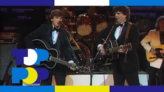 The Everly Brothers - On The Wings Of A Nightingale - Live in 1984 • TopPop