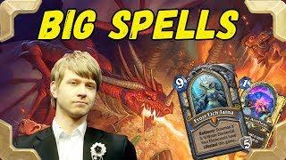 Savjz tries a Big spells mage deck version (Kobolds and Catacombs)