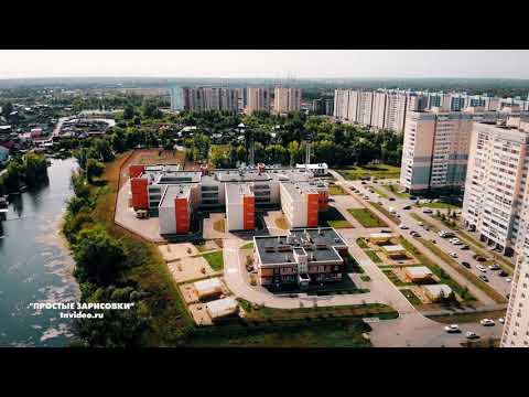 Волгарь с коптера. Новый район Самары в окружении озер. #Samara