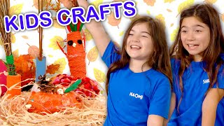 Make Thanksgiving Decorations!  | KIDS CRAFTS | Universal Kids