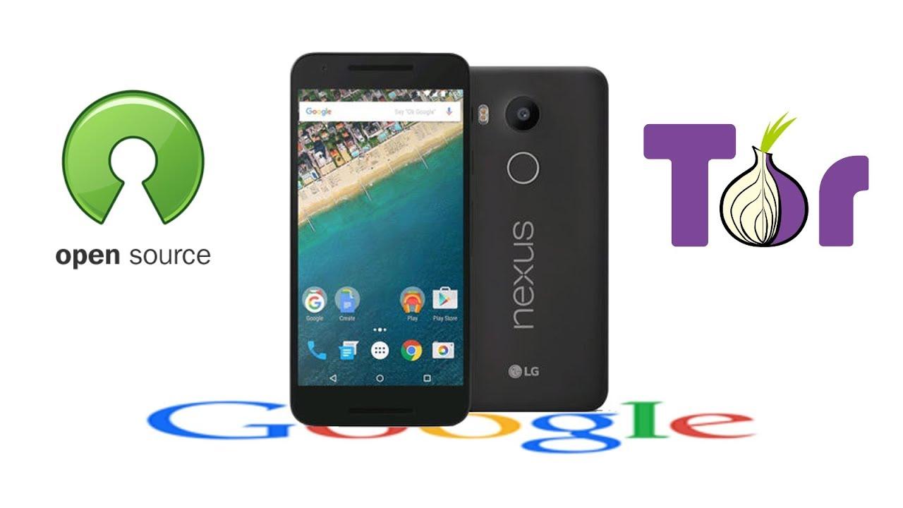 De-googlified Nexus 5X Running Lineage OS, Tor, and FOSS
