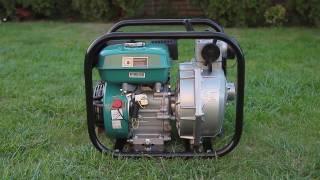 видео Особенности применения мотопомп