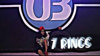 '7 RINGS ' DANCE CHOREOGRAPHY.....  CHOREOGRAPHED BY Teju. T Unbeatables dance planet