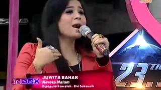 Gambar cover Juwita Bahar single Baru _ Kereta Malam