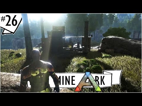 RUINS! Using Re-Fertilizer to Reclaim Abandoned Bases :: Ep. 26 :: Ark: Survival Evolved :: IronMine