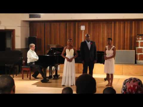 Sipho Qabithole, Sinesipho Funo, Ncumisa Garishe ''Soave sia il vento'' By W.A Mozart