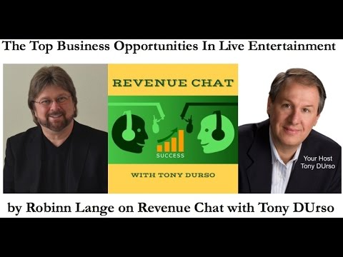 EP56. Robinn Lange: The Top Business Opportunities In Live Entertainment