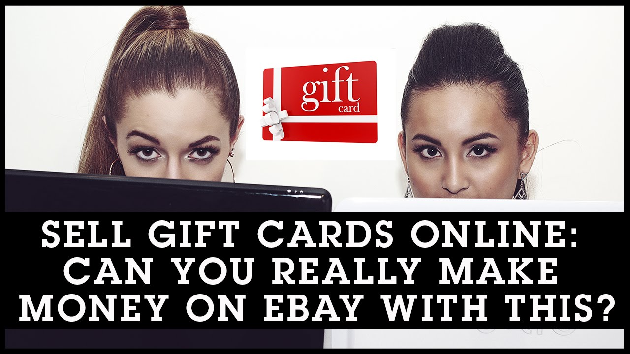 sell gift cards online can you really make money on ebay with this