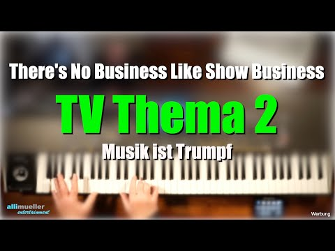 """Pa1000/4X - TV Thema 2 - """"Show Business"""" # 450"""