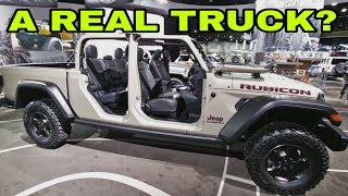 2019 Jeep Gladiator.  Close up and personal!  A real truck?