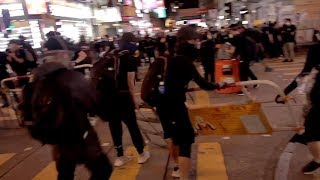 People speak out on violent protests in Hong Kong
