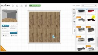 Mydeco 3d Room Tutorial: How To Search / Drag / Move / Delete Furniture