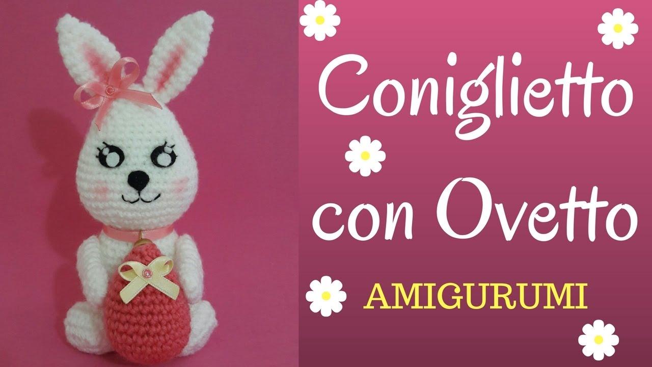Amigurumi Rabbit Tutorial : Coniglietto amigurumi crochet a bunny english pattern youtube