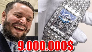 Jacob & Co. Billionaire Watch in Dubai 📍