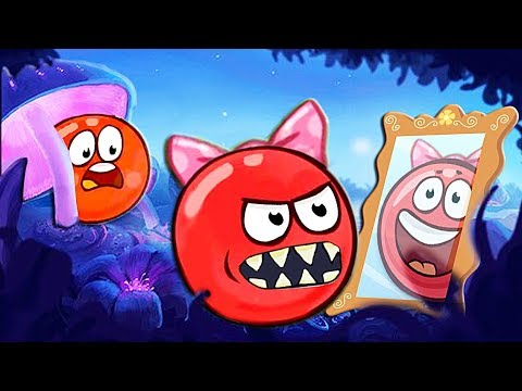 Красный Шарик смешные приколы и фейлы с детьми Шара игра для детей RED BALL 4 Volume 5 INTO THE CAVE