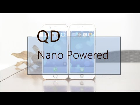 iPhone LCD Screen Powered by Quantum Dots Nano Technology