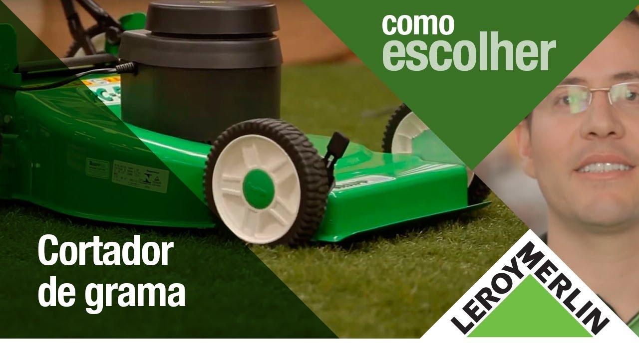 Artesanato Em Tiradentes ~ Como Escolher o Cortador de Grama Ideal Leroy Merlin YouTube