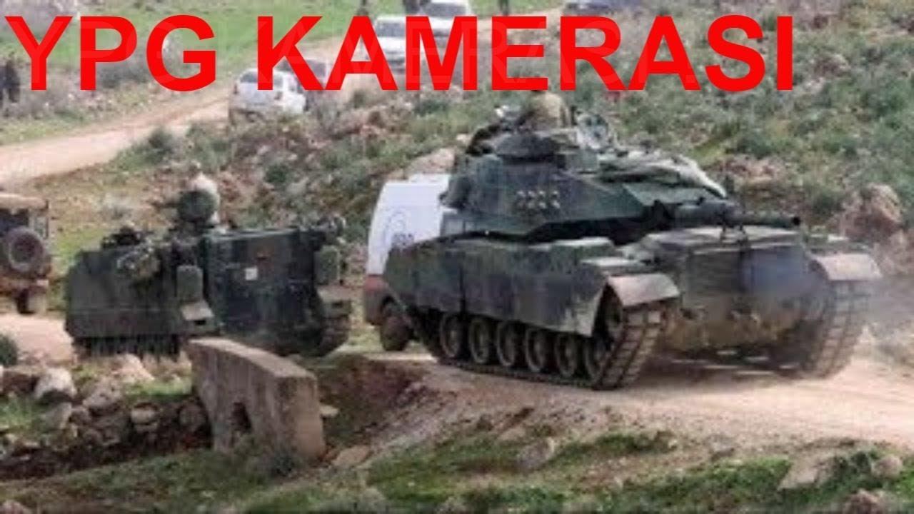 Afrin'de YPG Kamerasından Çatışma Görüntüleri!