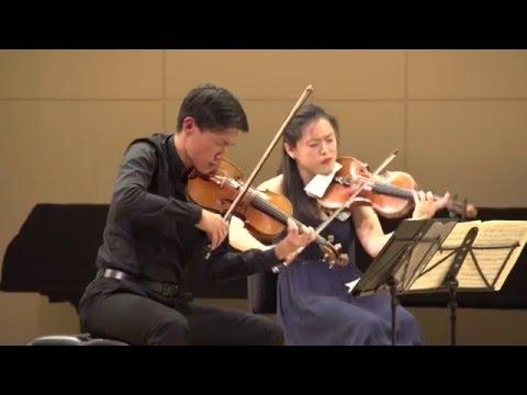 Parker Quartet w/ Charles Neidich, Clarinet Brahms Clarinet Quintet in B Minor, Op.115