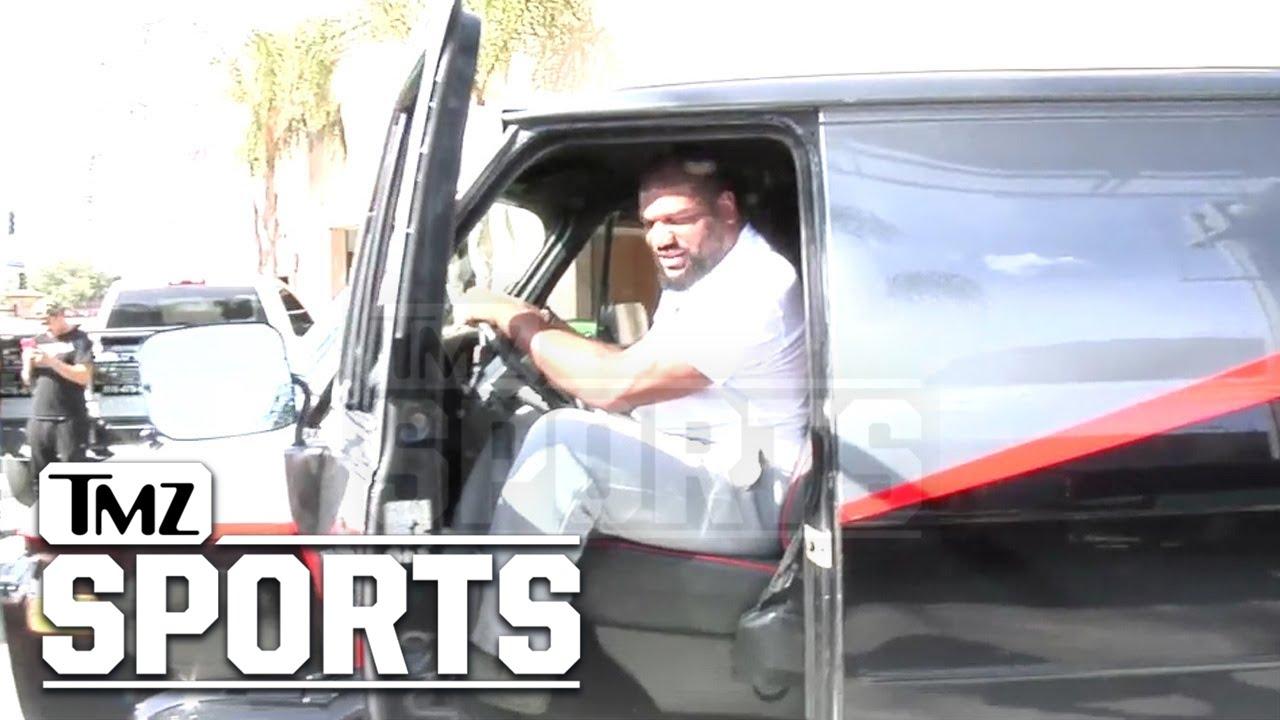 Quinton Rampage Jackson Picks Up His A Team Van