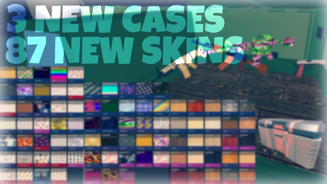 87 New Skins Coming Soon In Phantom Forces - youtube videos roblox phantom forces