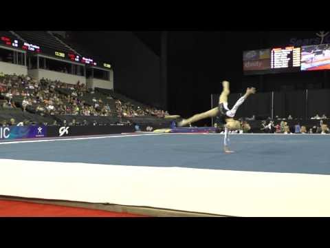 Abigail Walker  Floor Exercise – 2015 Secret U.S. Classic