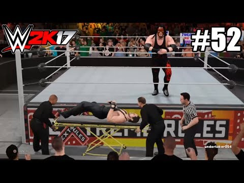 #52 - EXTREME RULES ÉPICO - My Career - WWE2K17