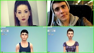 Zalfie! Zoella and PointlessBlog ~ Sims 4 CAS