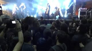 Apocalyptica - Life Burns (full HD 1080p) live @Parque de la Industria Guatemala 24/01/12
