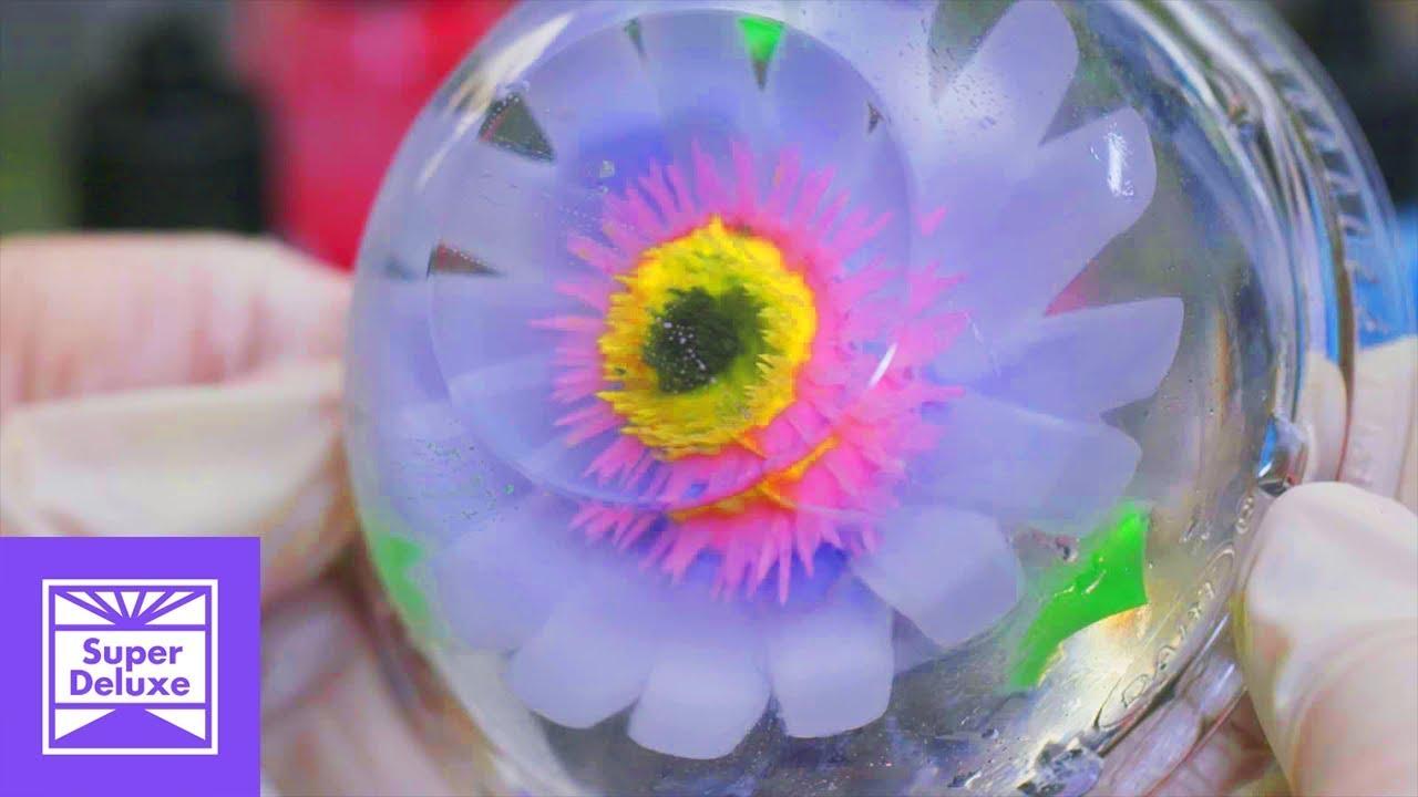 Gelatin Flower Art Stoned Mode Youtube