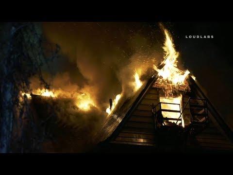 Massive 2-Alarm House Fire | Orange City NJ