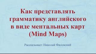Как представлять грамматику английского в виде ментальных карт (Mind Maps)