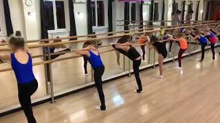 Гимнастика Тренировка 07.12.2017 Центр ЕVA
