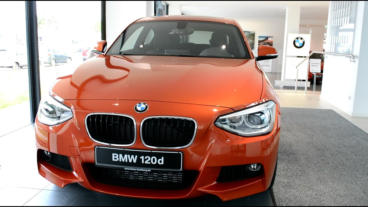 2014 New Bmw 1er 120d With M Sport Package F21 Youtube