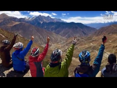 Chinese cycling enthusiasts ride 2124KM arrived in Lhasa, Tibet.