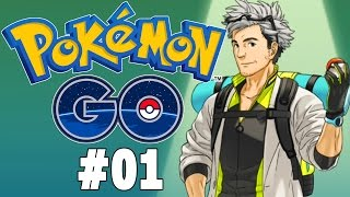 Pokemon GO Part 1 - I Choose You! Gameplay Walkthrough