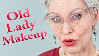 OLD LADY MAKEUP | Aging Special Effects - Efectos especiales de envejecimiento (subtítulos)