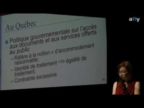 Donna Jodhan v. le Gouvernement du Canada : perspectives québécoises -- By Catherine Roy #a11ymtl