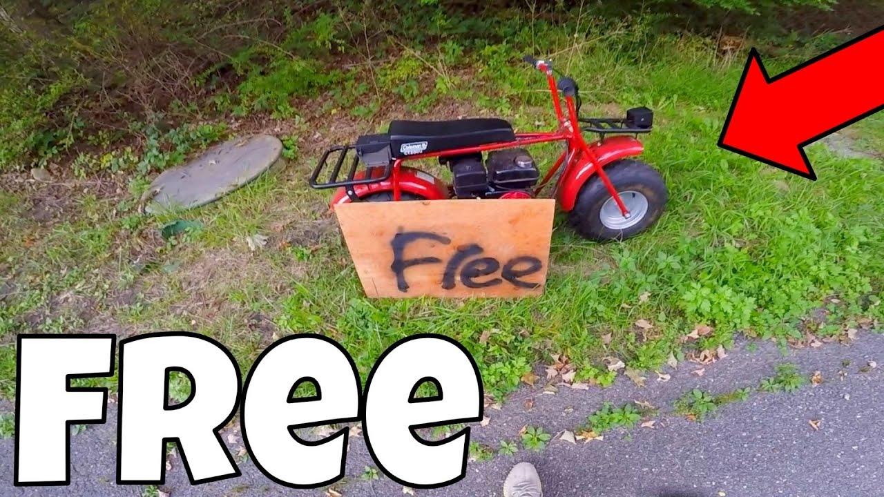 Found A Free Mini Bike