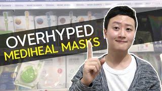 Mediheal SHEETMASKS I'll Never Buy Again | Korean Guy Reviewing Skincare
