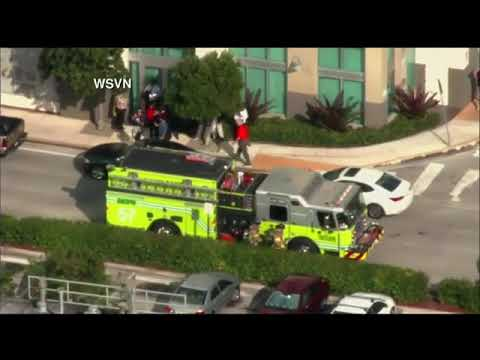 Buildings In Miami Evacuated After Magnitude 7.7 Earthquake Off ...
