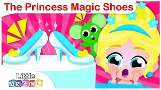 PRINCESS SONG | My Princess Magic Shoes | Nursery Rhymes and Kids Songs by Little Angel