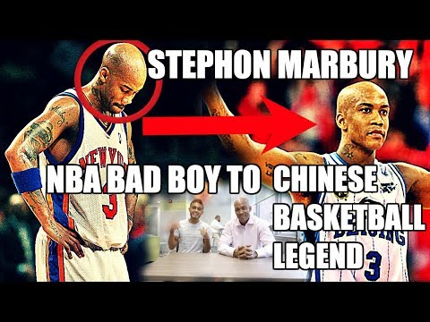 How Stephon Marbury Went From NBA Bad Boy to Chinese Basketball Legend!