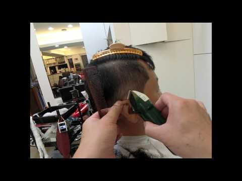 男士髮型~頸線修飾及兩側的銜接