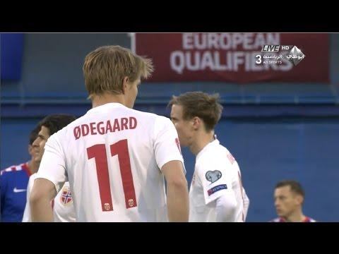 Martin Ødegaard vs Croatia (A) 14-15 | HD 720p (28/03/2015)