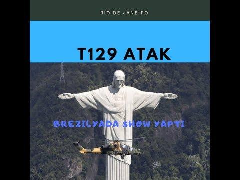 T129 Atak Brezilya Semalarında Şov Yaptı.