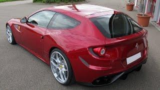 novitec rosso ferrari ff exhaust system