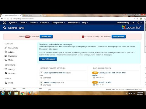 Joomla SEO - Add MetaData And Keywords To A Joomla Template - Search Engine Optimization