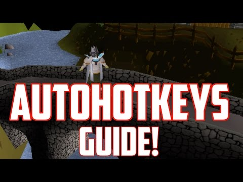 How to use AHK on `Oldschool Runescape 2007` | AutoHotKey Guide and Scripts